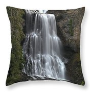 Alexander Falls - Whistler British Columbia Throw Pillow