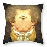 Alexander Hamilton Invert Throw Pillow