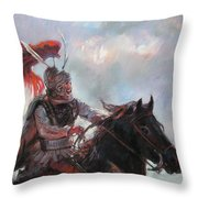 Alexander The Great  Throw Pillow