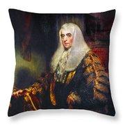 Alexander Wedderburn(1733-1805) Throw Pillow