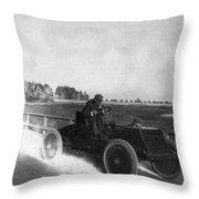 Alexander Winton (1860-1932) Throw Pillow
