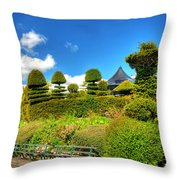 Alexandra Park Penarth Throw Pillow