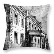 Alexandria, Virginia Throw Pillow
