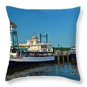 Alexandria Waterfront Throw Pillow