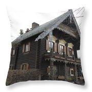 Alexandrowka - Russian Village - Potsdam Throw Pillow