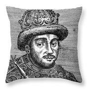 Alexei Mikhailovich (1629-1676) Throw Pillow