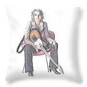 Alexz Johnson Throw Pillow