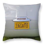 Alfa Romeo 1900 Ss Zagato Berlinetta 1956 Throw Pillow