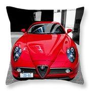 Alfa Romeo 1c Throw Pillow