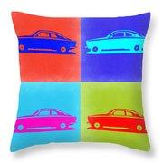 Alfa Romeo Gtv Pop Art 2 Throw Pillow