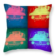 Alfa Romeo  Pop Art 1 Throw Pillow