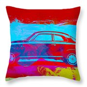 Alfa Romeo  Watercolor 1 Throw Pillow by Naxart Studio