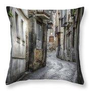 Alfileritos Throw Pillow by Joan Carroll