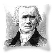 Alfred Armand Velpau (1795-1867) Throw Pillow