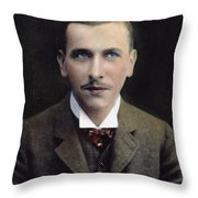Alfred L Throw Pillow