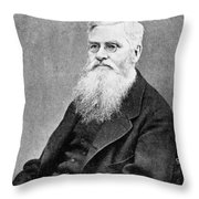 Alfred Russel Wallace (1823-1913) Throw Pillow