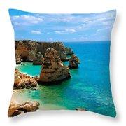 Algarve Beach - Portugal Throw Pillow