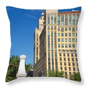 Alhambra Towers - 1 Throw Pillow