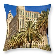 Alhambra Towers - 2 Throw Pillow