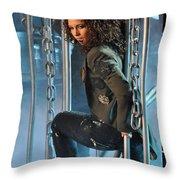 Alicia Keys Throw Pillow