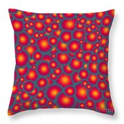 Alien Eggs Throw Pillow