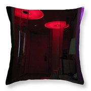 Alien Invasion. Hotel Citizenm. Amsterdam Airport Throw Pillow
