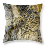 Alien Rock Formaton Throw Pillow