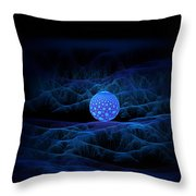 Alien Seed Throw Pillow