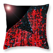 Alien Skin Throw Pillow