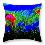 Alien Surface Throw Pillow