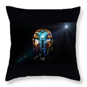 Alien Wise Man Throw Pillow