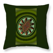 Aliens Feeding Phone Cases And Cards Throw Pillow