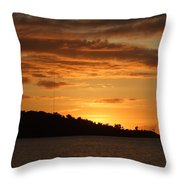 Alight With The Sun Throw Pillow