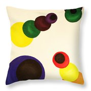 Aligning Strategy Throw Pillow