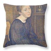 Aline Marechal Throw Pillow