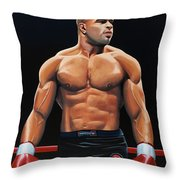 Alistair Overeem Throw Pillow