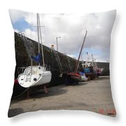All Aboard For Going Nowhere Throw Pillow