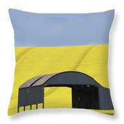 All Across The Land 4 Throw Pillow