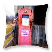 All American Pump Throw Pillow