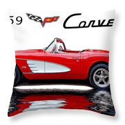 All American Throw Pillow