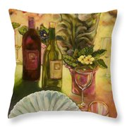 All Are Gathered Throw Pillow