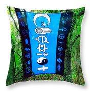 All Are One Throw Pillow