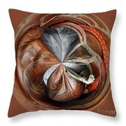 All Around Cowboy Boots Throw Pillow