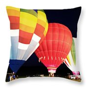 All Blown Up Throw Pillow
