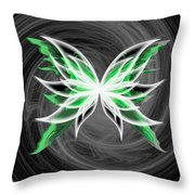 All But Green Throw Pillow