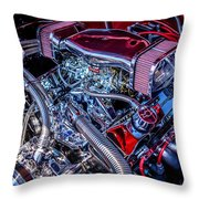 All Chromed Out Throw Pillow