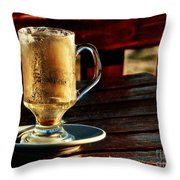 All Coffeed Out  Throw Pillow