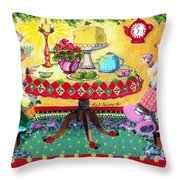 All Creatures Were Stirring Even The Mice Throw Pillow