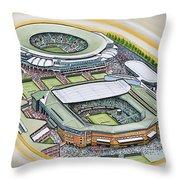 All England Lawn Tennis Club Throw Pillow