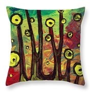 All Eyes On You Throw Pillow